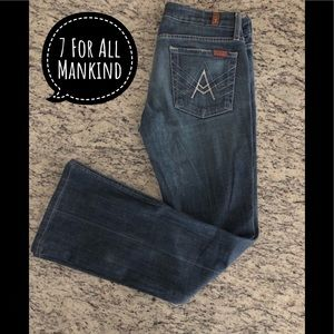 💜7 For All Mankind 'A' Pocket Bootcut Jeans💜